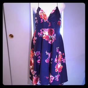 AX Paris Floral Midi Flow Dress New